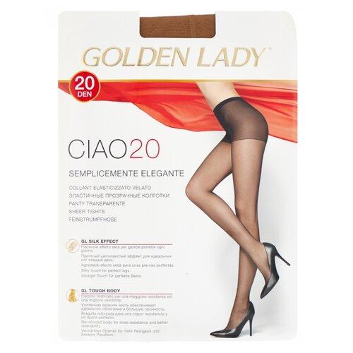 Колготки Golden Lady Ciao 20 den, размер 3-M, melon (бежевый) колготки golden lady ciao 20 den размер 3 m nero черный