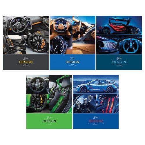 Купить ArtSpace Упаковка тетрадей Авто. Interior car Т96к_26731, 5 шт., клетка, 96 л., Тетради