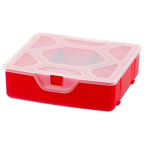 Фото - Органайзер BLOCKER Master BR3769 14x13.5x4.2 см 5.5'' красный органайзер blocker ромб br4003 20x20x4 5 см 8 красный