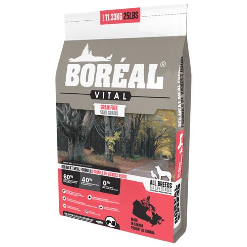 Сухой корм для собак Boreal Vital с красным мясом 11.33 кг