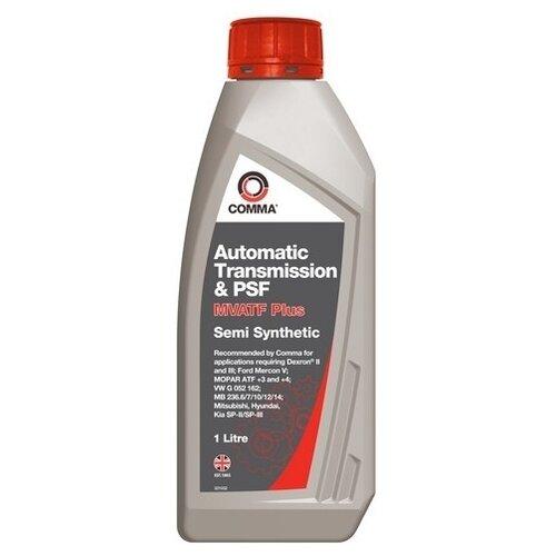 Трансмиссионное масло Comma Multi vehicle ATF & PSF 1 л