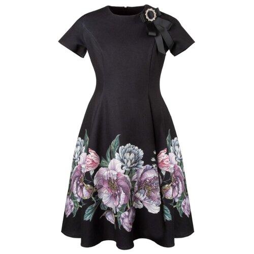 Платье Stefania Pinyagina размер 134, черный