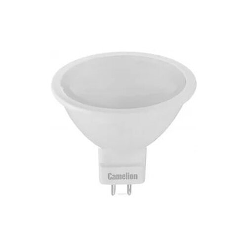Лампа светодиодная Camelion 12873, GU5.3, JCDR, 8Вт лампа светодиодная camelion gu5 3 jcdr 8вт