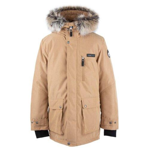 Купить Парка KERRY Jari K20668 размер 152, 133 бежевый, Куртки и пуховики