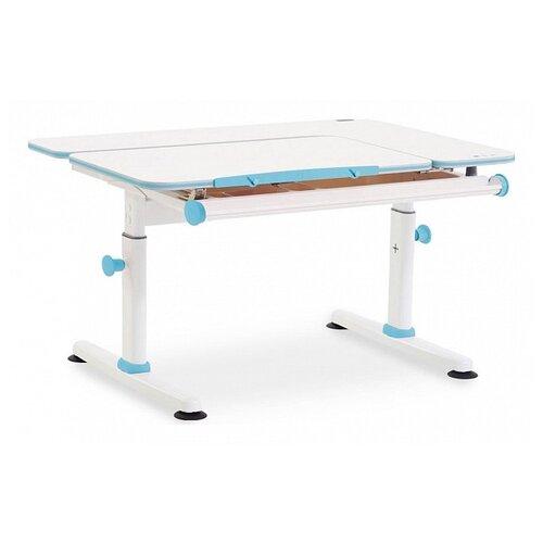 Купить Стол TCT NANOTEC M6+XS 100x75 см кедр белый/голубой, Парты и столы