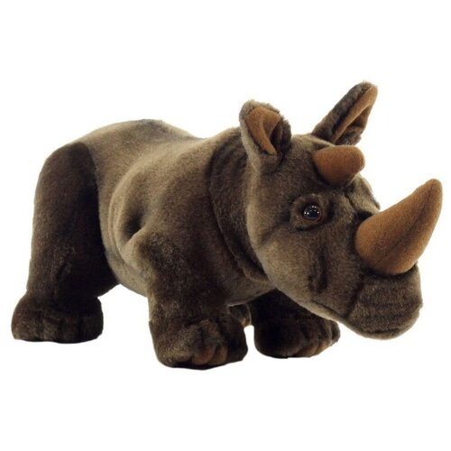 Фото - Мягкая игрушка Hansa Носорог 30 см мягкая игрушка hansa лиса 90 см