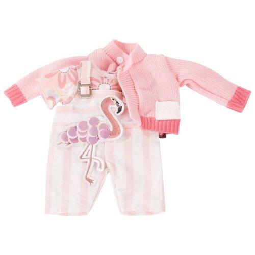 Купить Gotz Комплект одежды Фламинго для куклы 30-33 см 3403022 розовый, Одежда для кукол