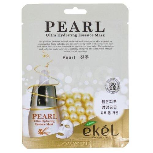 Ekel Ultra Hydrating Essence Mask Pearl Маска тканевая Жемчуг, 25 мл artego маска для тонирования жемчуг color shine mask pearl 200 мл