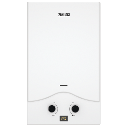 Проточный газовый водонагреватель Zanussi GWH 10 Senso, белый