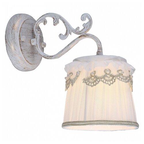 Настенный светильник Arte Lamp Merletto A5709AP-1WG, 40 Вт arte lamp a5709ap 1wg