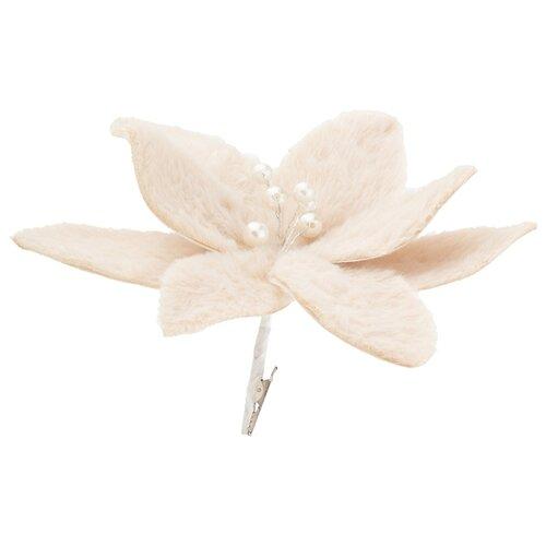 Цветок искусственный пуансетия длина 20 см Lefard (535-281)