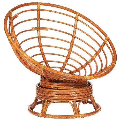 Кресло-качалка TetChair Papasan W23/01B коньячный