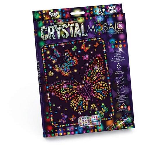 Купить Danko Toys Набор алмазной вышивки Crystal Mosaic Бабочки (CRM-01-08), Алмазная вышивка