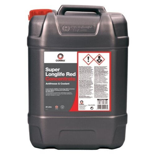 Антифриз Comma Super Longlife Red Concentrate 20 л