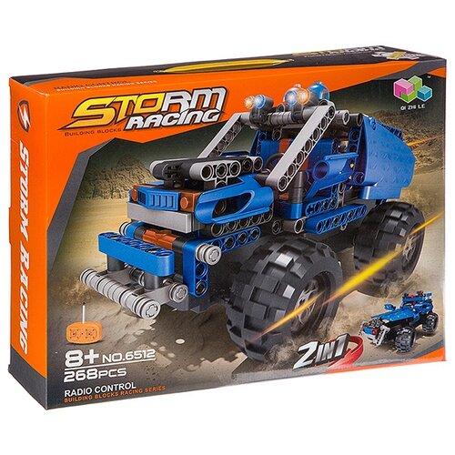 Электромеханический конструктор Qi Zhi Le Storm Racing 6512 Джип