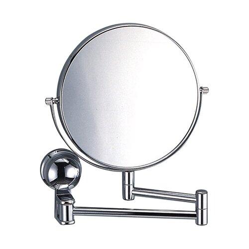 Зеркало косметическое настенное WasserKRAFT K-1000 хром
