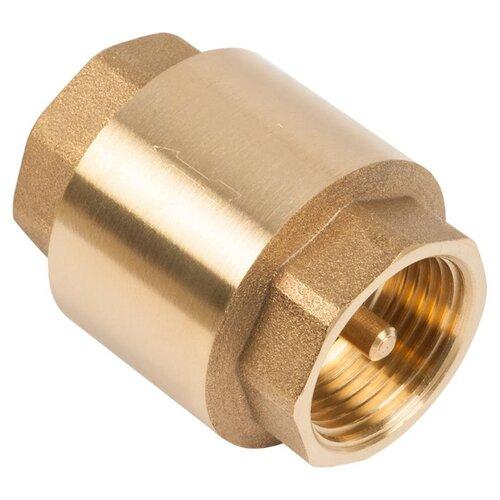 Обратный клапан одностворчатый UNIPUMP 77027 муфтовый (ВР/ВР), латунь Ду 25 (1) лафани ф рено г обратный отсчет