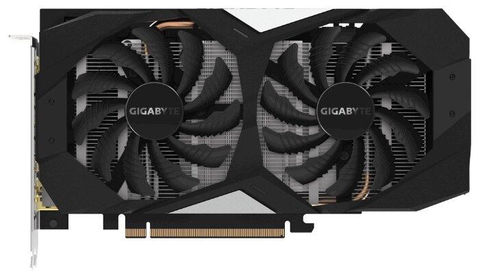 Видеокарта GigaByte GeForce GTX 1660 6Gb 1830Mhz PCI-E 3.0 6144Mb 8002Mhz 192 bit HDMI 3xDP GV-N1660OC-6GD