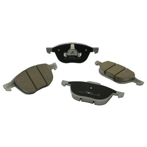 Фото - Дисковые тормозные колодки передние Frixa S1E101 для Ford Focus, Mazda 3 (4 шт.) дисковые тормозные колодки передние ferodo fdb4446 для mazda 3 mazda cx 3 4 шт