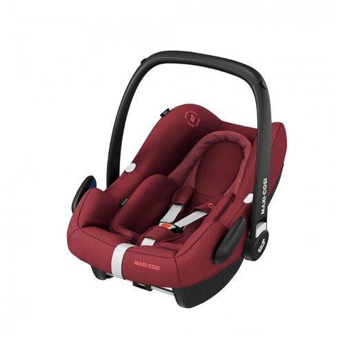 Автокресло-переноска группа 0+ (до 13 кг) Maxi-Cosi Rock, essential red автокресло группа 1 2 3 9 36 кг little car ally с перфорацией черный