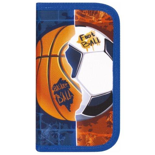 Юнландия Пенал Sports Ball (229158) синий/оранжевый юнландия ранец extra sports ball 228802 синий оранжевый
