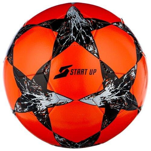 Футбольный мяч START UP E5121 оранжевый/черный 5
