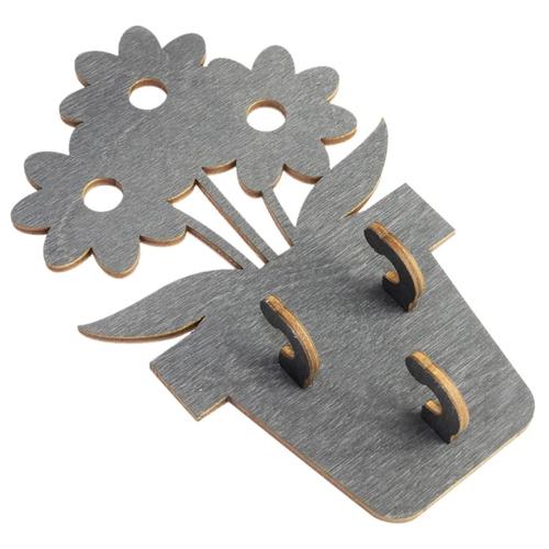 Ключница Florento 4860697 10x16 см серый
