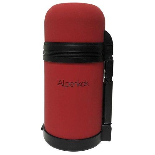 Классический термос Alpenkok AK-08001M, 0.8 л красный