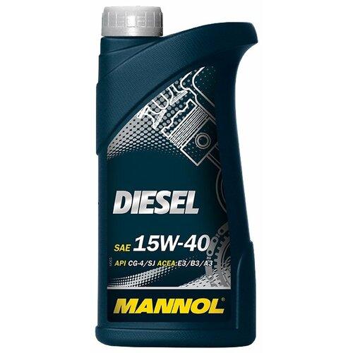 Моторное масло Mannol Diesel 15W-40 1 л