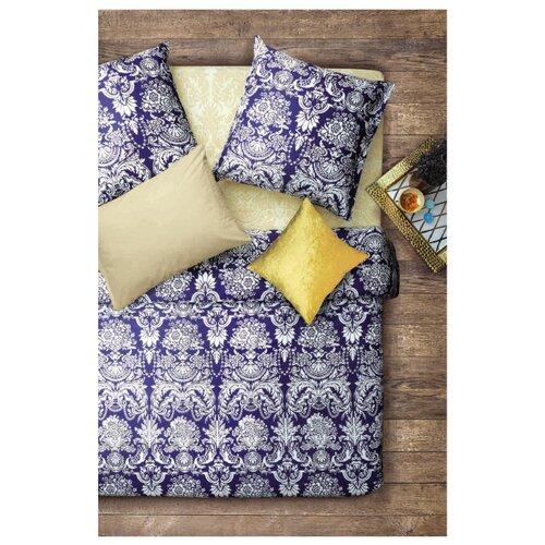 Постельное белье 2-спальное Sova & Javoronok Византия, бязь, 50 х 70 см синий/белый постельное белье 1 5сп sova