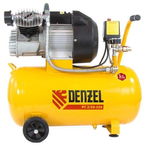 Компрессор масляный Denzel PC 2/50-350, 50 л, 2.2 кВт