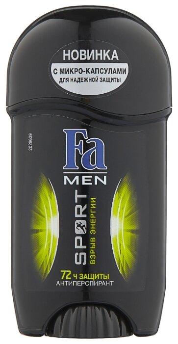 Дезодорант-антиперспирант стик Fa Men Sport Power Boost