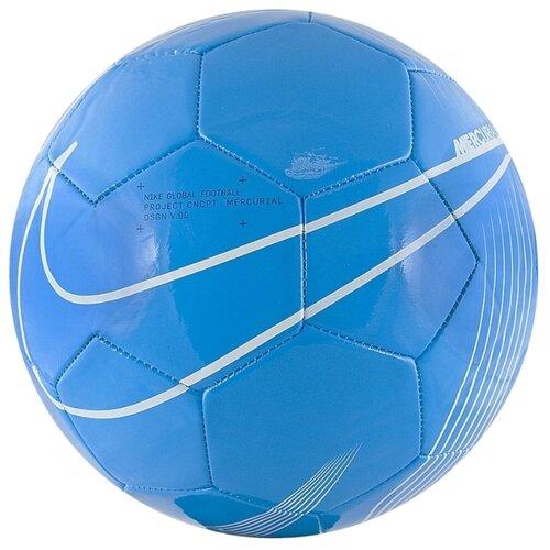 Футбольный мяч NIKE Mercurial Fade SC3913 синий 4 nike бутсы для мальчиков nike vapor 13 academy mds tf размер 34