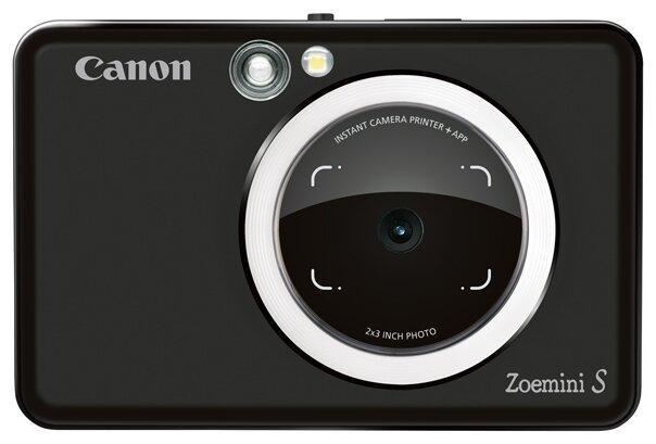 Фотоаппарат моментальной печати Canon Zoemini S, матовый черный фото 1