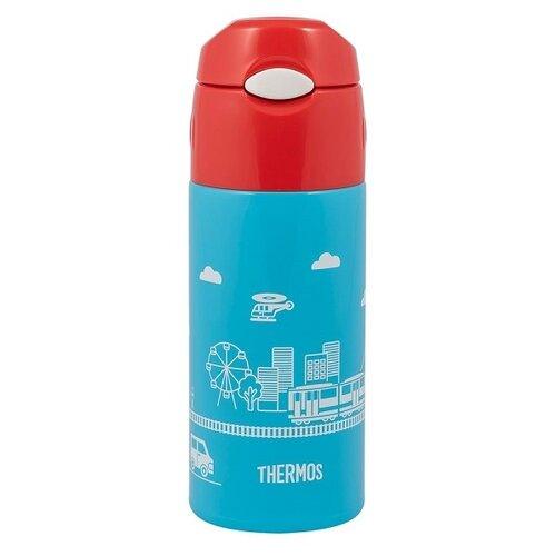 Термокружка Thermos FHL-401F BL, 0.4 л голубой