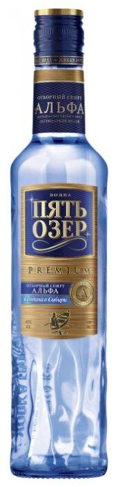 Водка Пять Озер Премиум, 0.5 л