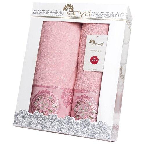 Arya Набор полотенец Palona банное розовый