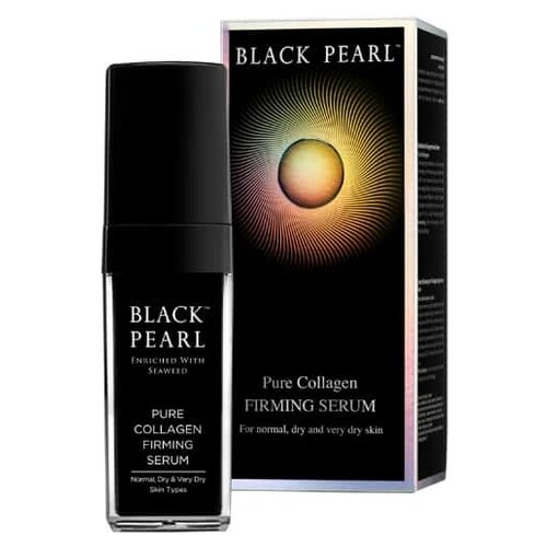 Black Pearl Pure Collagen Firming Serum Сыворотка укрепляющая для лица с коллагеном, 30 мл ocean pearl powder pure seawater your own mask whitening firming 260g beauty salon equipment
