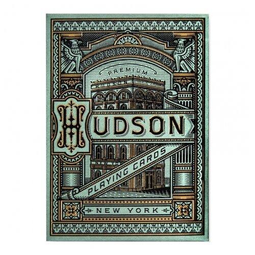 Фото - Карты для покера Theory 11 Hudson theory бермуды