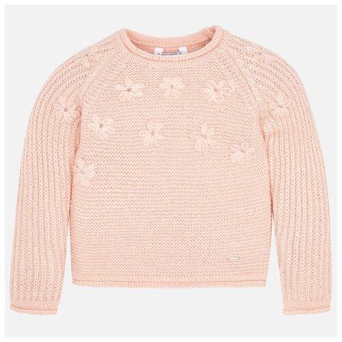 Купить Свитер Mayoral размер 116, розовый, Свитеры и кардиганы