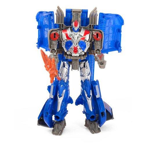 Купить Трансформер Dade Toys Heroes Return D622-E272 синий/серебристый, Роботы и трансформеры