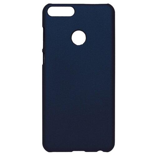 Чехол Volare Rosso Soft-touch для Huawei P Smart (пластик) темно-синий