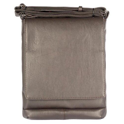 Фото - Сумка планшет SKIFFHAT, искусственная кожа, коричневый 2047