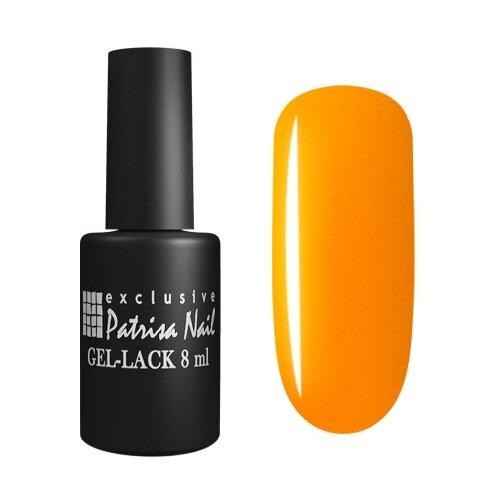 Гель-лак для ногтей Patrisa Nail По имени Солнце, 8 мл, 807 яркий апельсиновый