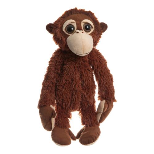 Игрушка-сумка SNOWMEN Обезьянка коричневая 43 см