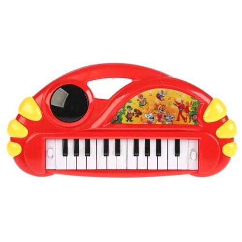 Купить Умка пианино B1542658-R красный, Детские музыкальные инструменты