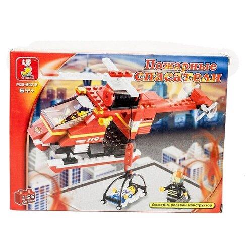 цена на Конструктор SLUBAN Пожарные спасатели M38-B0218