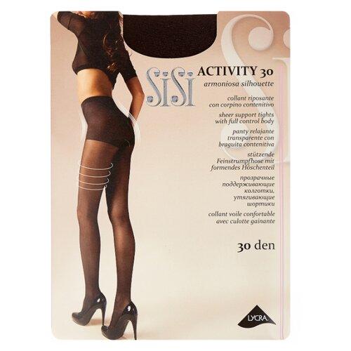 Фото - Колготки Sisi Activity 30 den, размер 3-M, moka (коричневый) колготки sisi activity 30 den размер 3 m naturelle бежевый