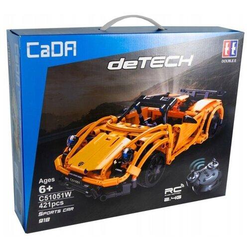 Конструктор Double Eagle CaDA deTECH C51051W Спортивный автомобиль 918, Конструкторы  - купить со скидкой