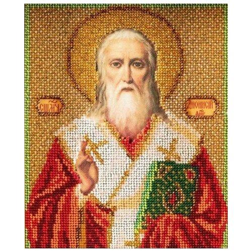 Купить Радуга бисера Набор для вышивания бисером Святой Дионисий (Денис) 12 х 14.5 см (В-346), Наборы для вышивания